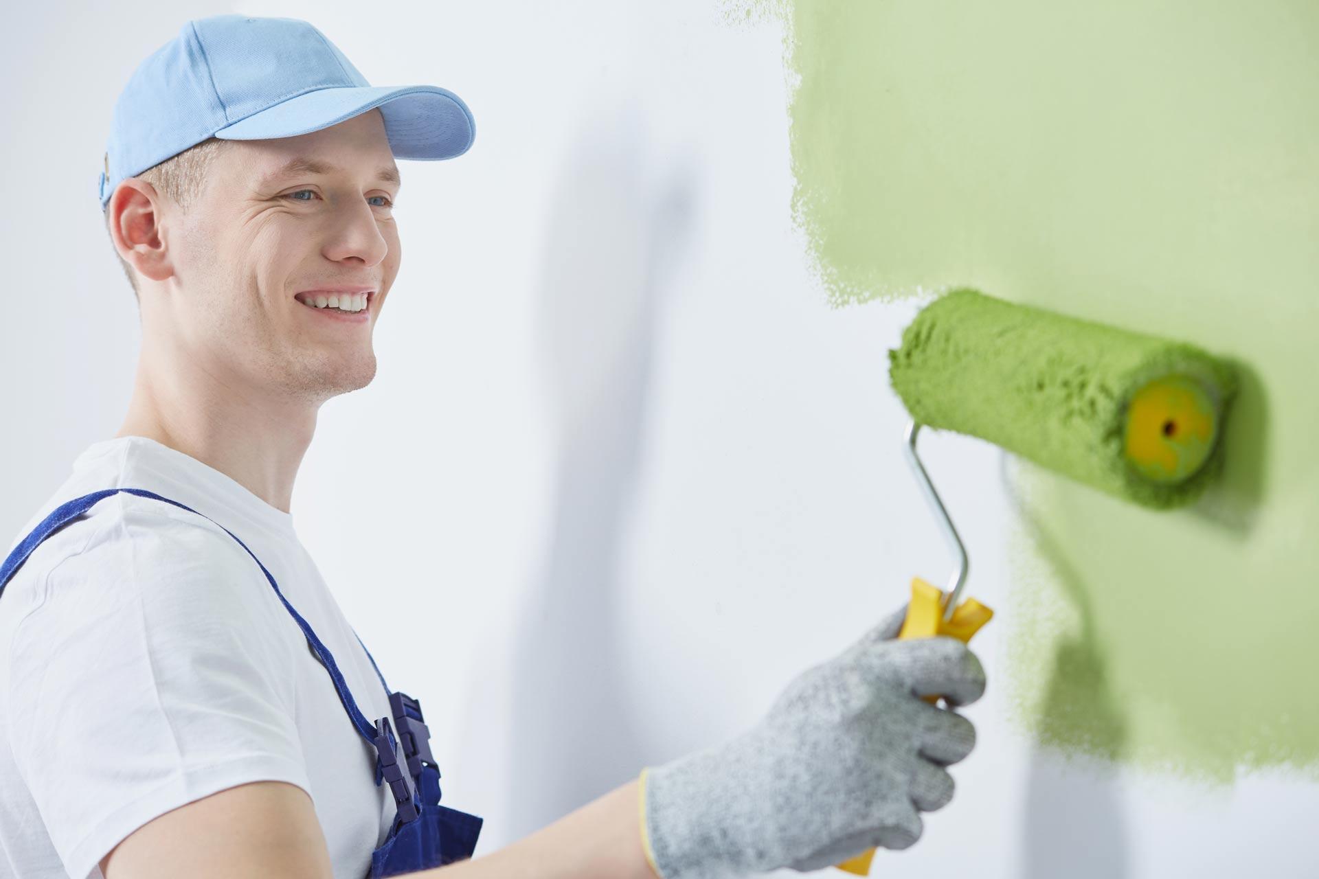 Malerarbeiten und Wohnungsrenovierung